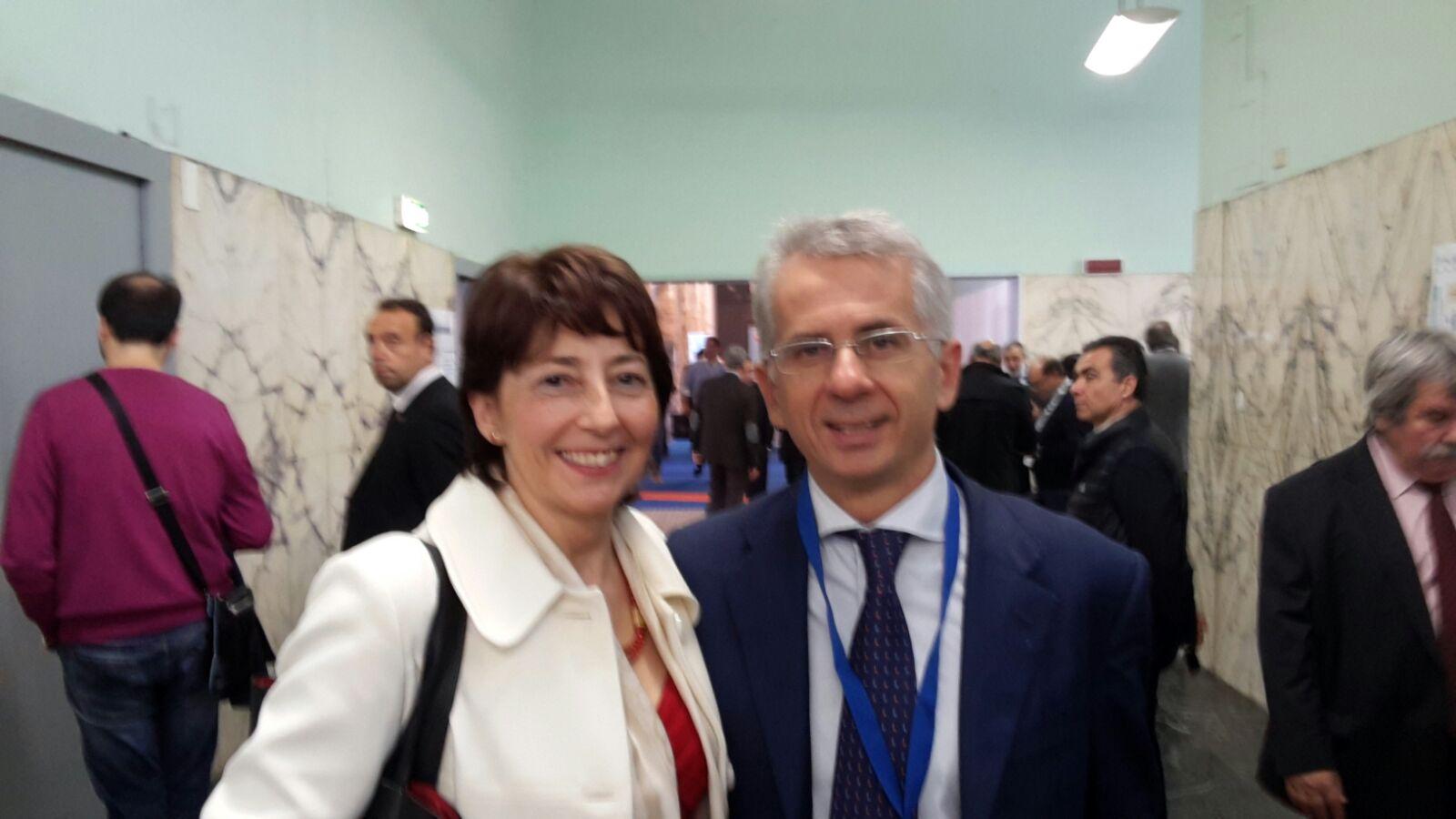 Il Sottosegretario alla Giustizia Ferri ed il Segretario Generale Assopetroli Assoenergia Gandolfo