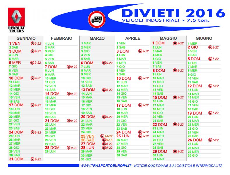 trasporto_europa_divieto_veicoli_pesanti_2016